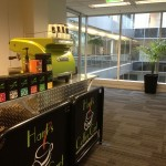 work coffee cart hire