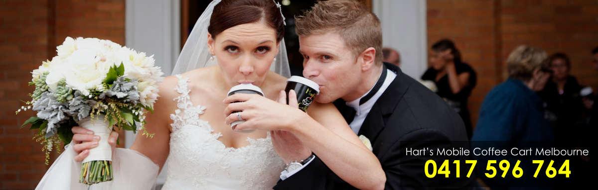 Coffee Cart Wedding Melbourne