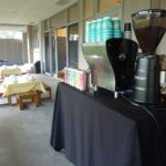 open day coffee cart