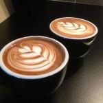 Latte Art Tulips by Hart's Coffee Cart Owner Jason Hart