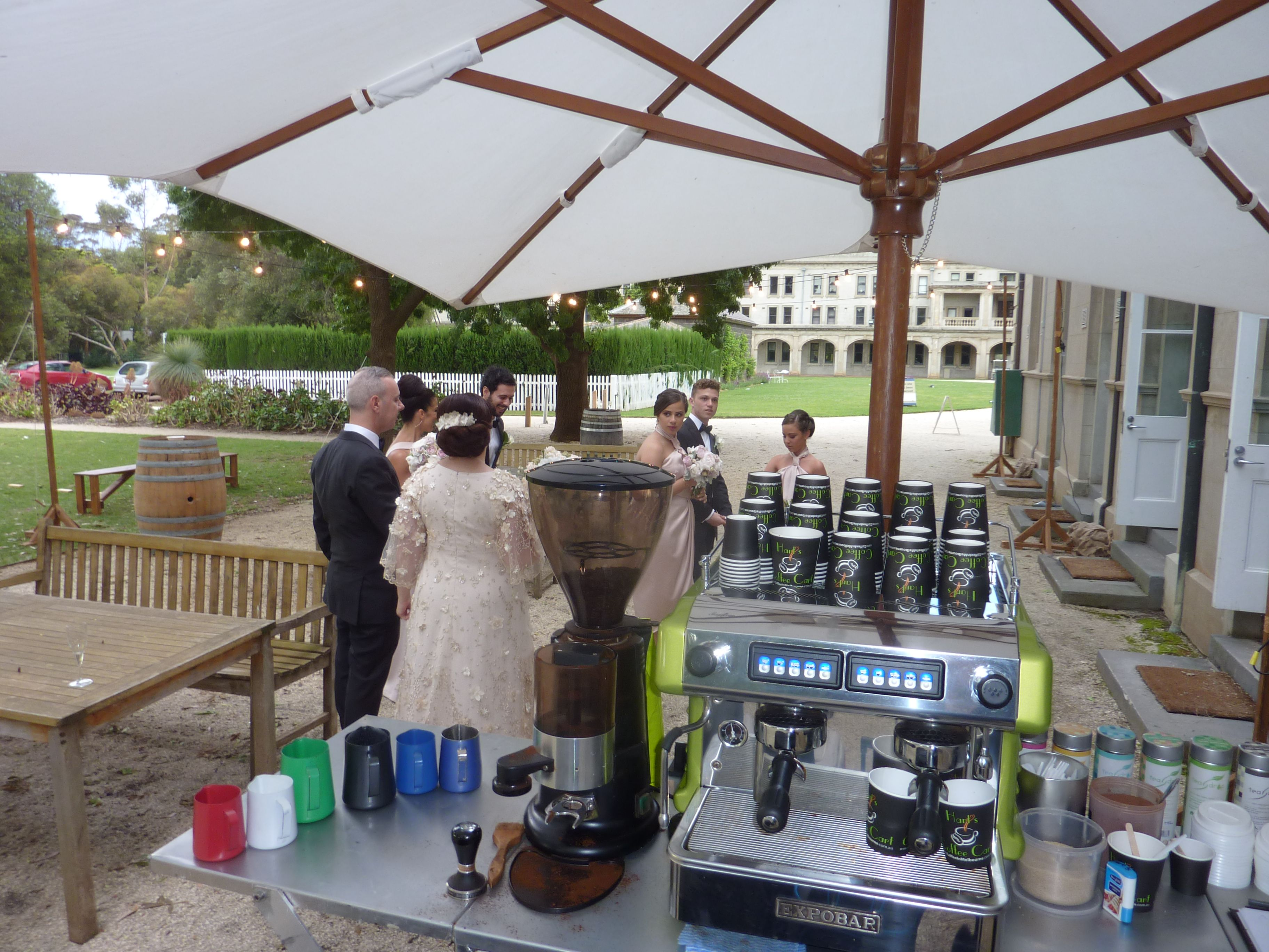 Hart S Coffee Cart For Weddings In And Around Melbourne
