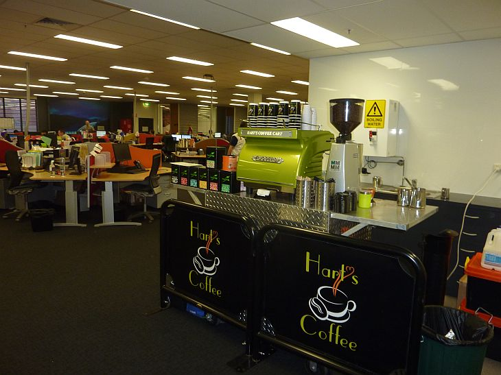 mobile coffee hire