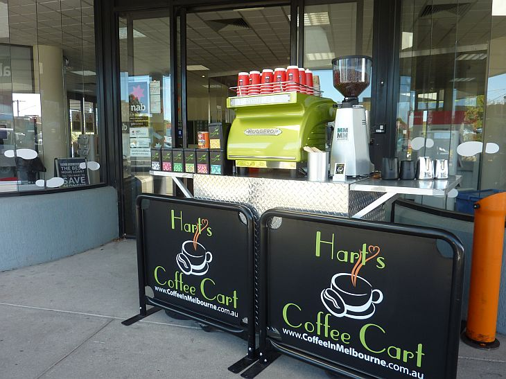 Coffee Cart Hire Melbourne NAB