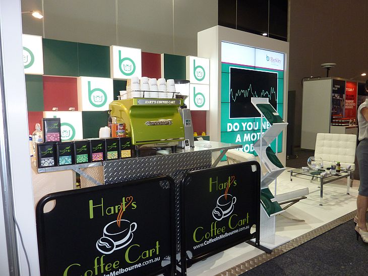Melbourne Convention And Exhibition Centre Coffee Cart Hire
