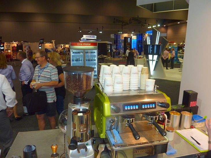 Melbourne Convention Exhibition Centre Coffee Cart Hire