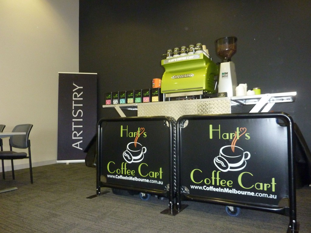 coffee cart melbourne