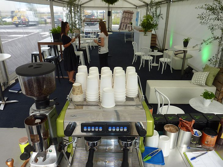 mobile coffee service