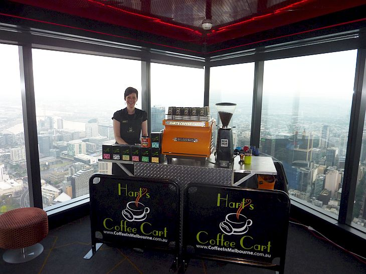 Eureka 89 Coffee Cart