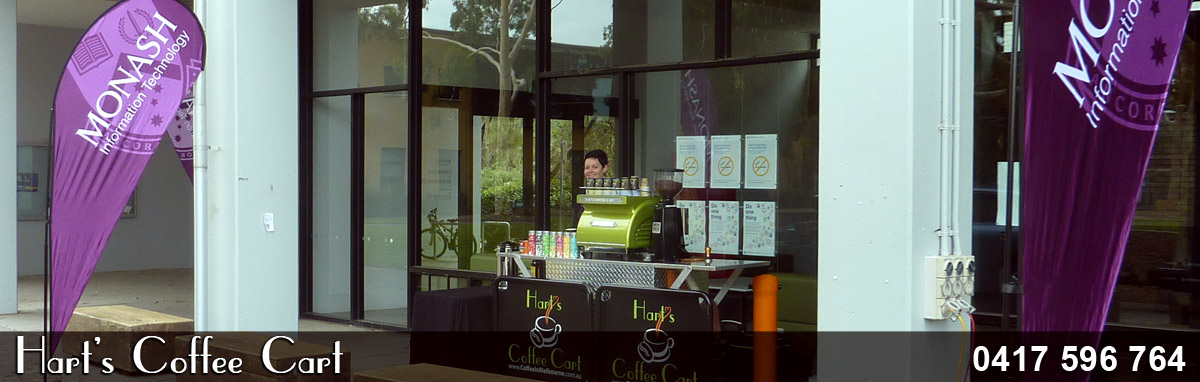 Coffee Carts Melbourne Hire