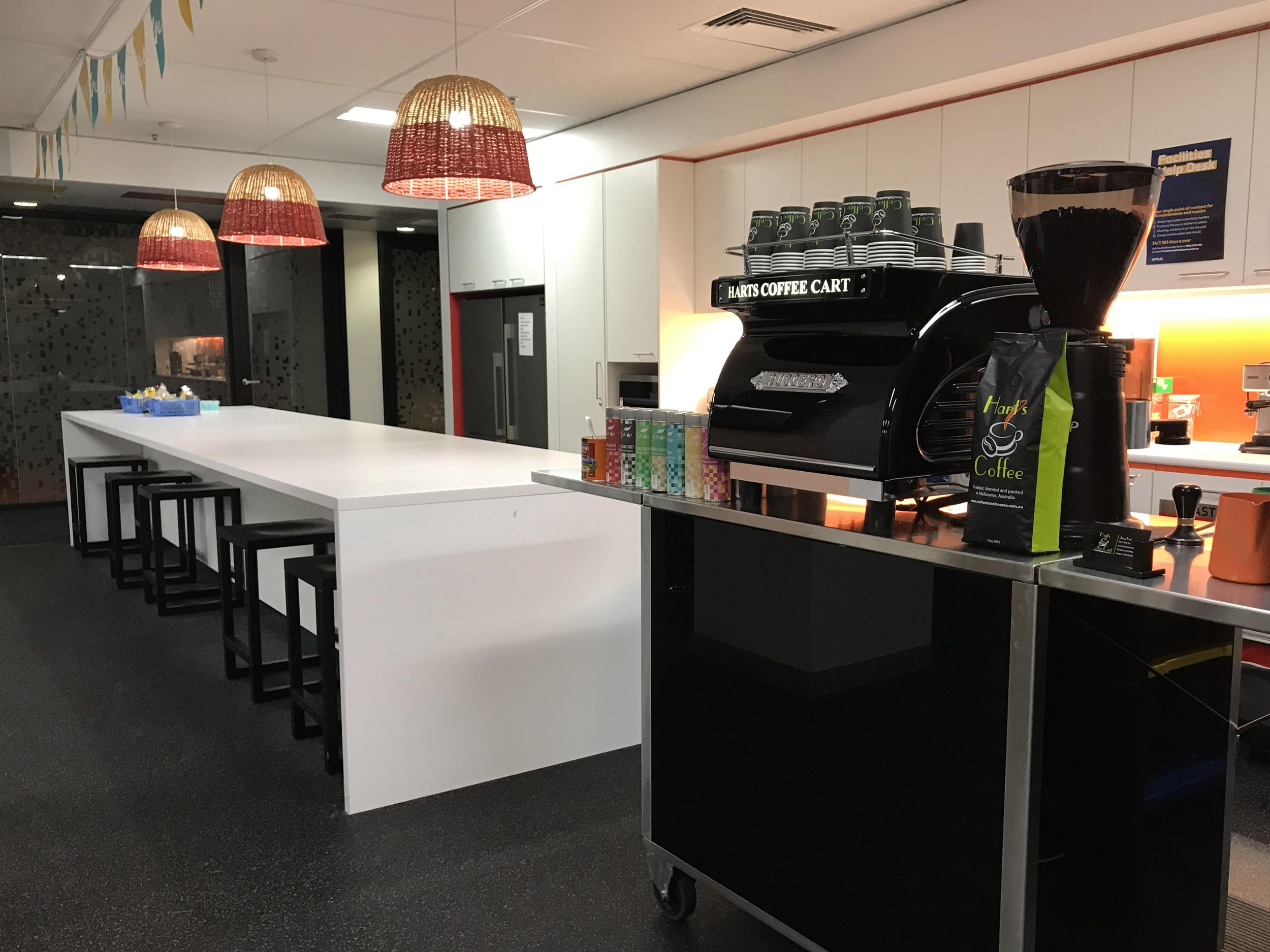 Harts Coffee Cart Melbourne