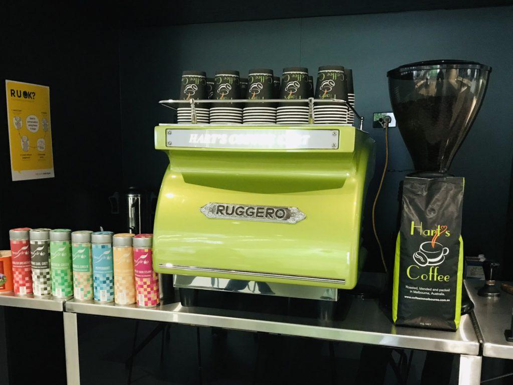 coffee cart work functions