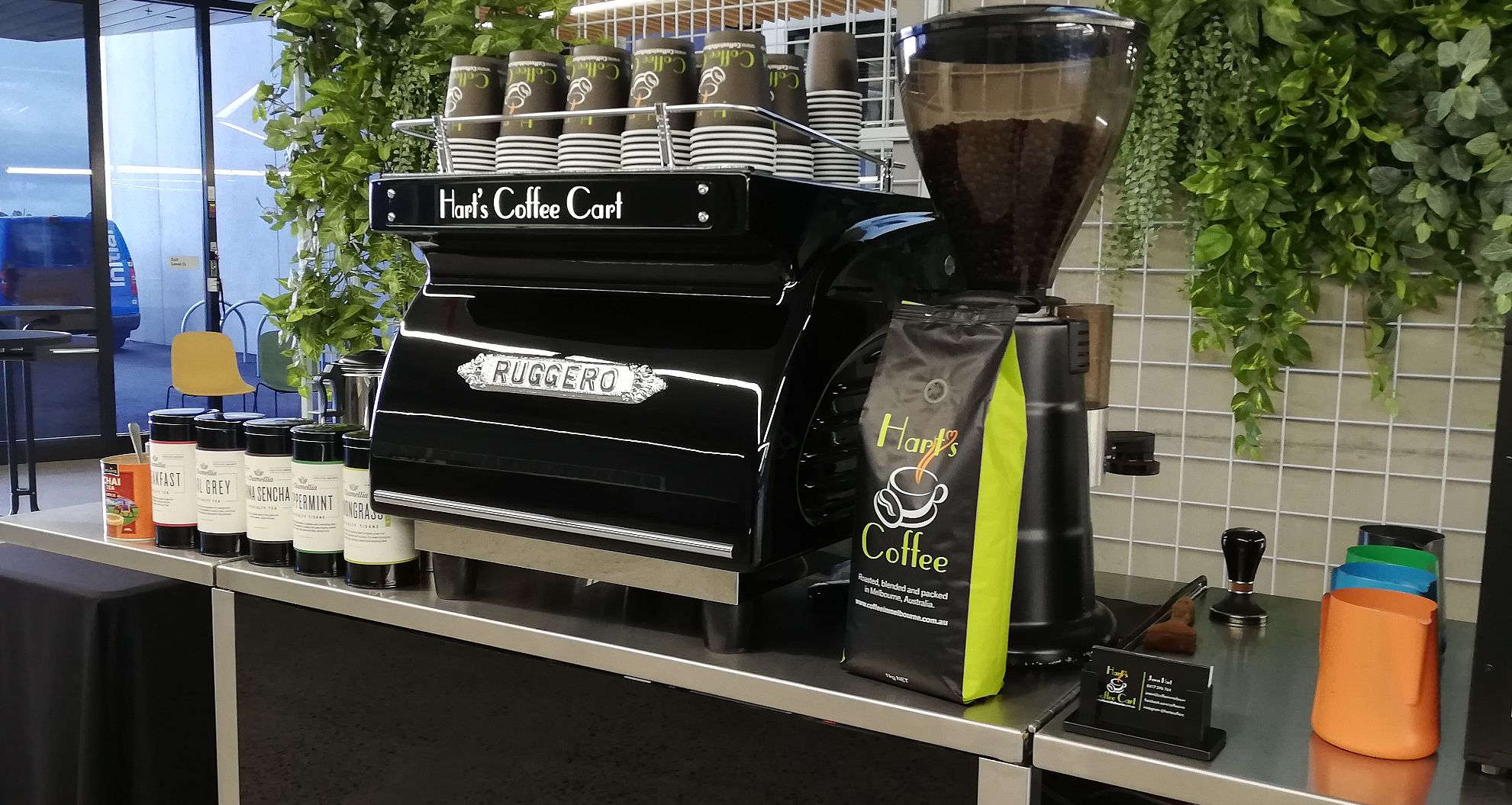 coffee cart hire melbourne