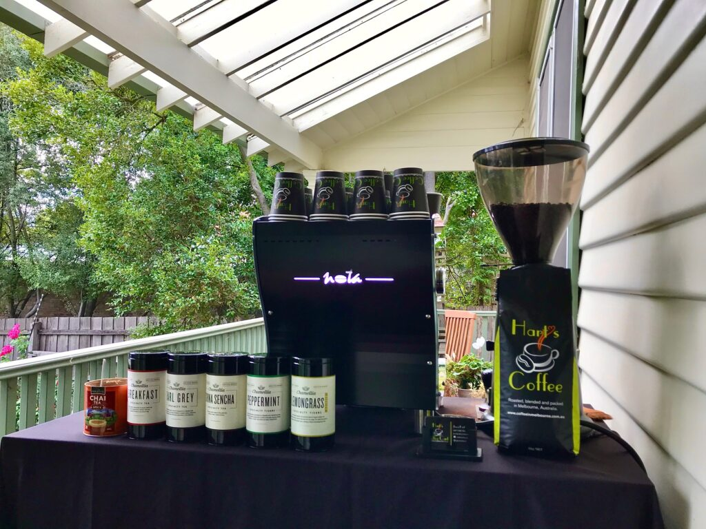 Small Coffee Cart Hire Melbourne